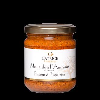 Mustard with Espelette chilli