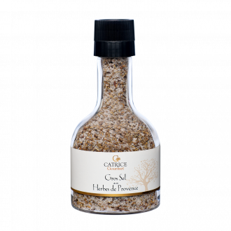 Coarse Salt with Herbes de Provence  - stackable mill