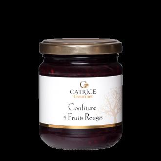 4 red fruits jam