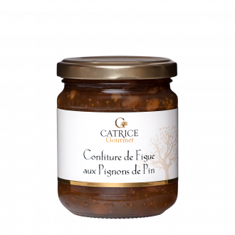 Fig jam with pine nuts
