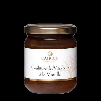 Mirabelle plum jam with vanilla