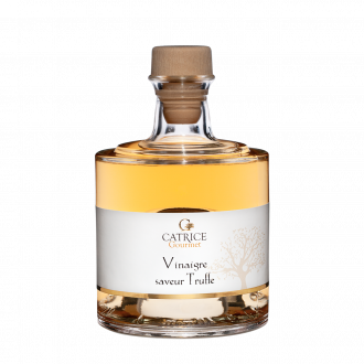 Vinegar flavored truffle  -  stackable bottle