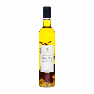 Olive Oil with Tomatoes, garlic & thyme - 50 cl