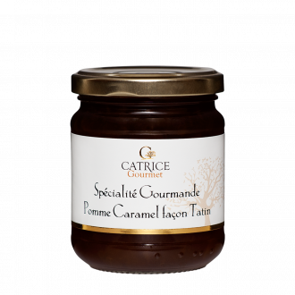 Caramelized apple jam