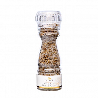 Coarse Salt with Herbes de Provence mill